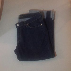 Seven for all mankind crop jeans